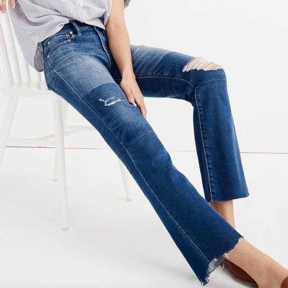 Madewell Denim - Madewell cali demi-boot jeans: unpatched edition